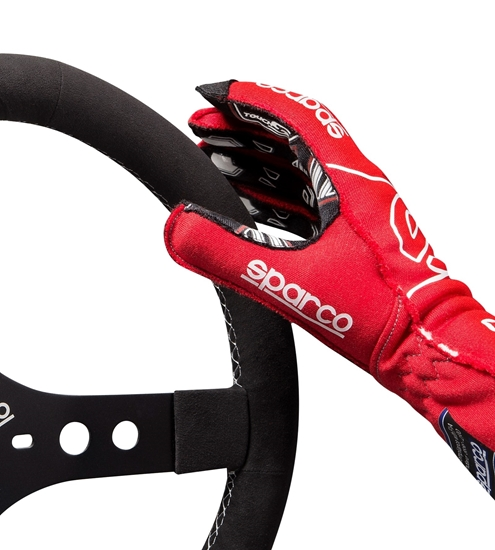 SPARCO ARROW RG7 EVO RED WHITE TOUCH S GRIP