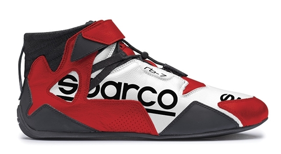 SPARCO APEX RB7 WHITE RED