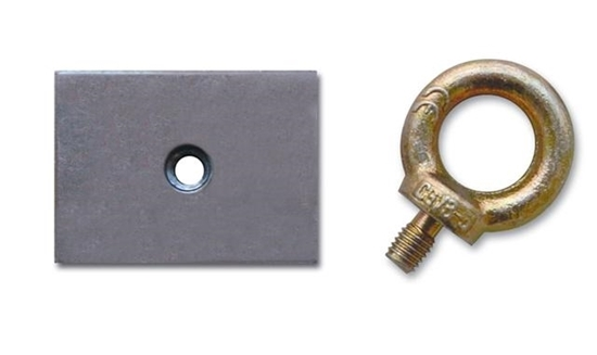 SPARCO REINFORCEMENT PLATE AND EYE BOLT