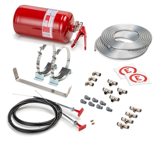 SPARCO FIRE EXTINGUISHER SYSTEM  4.25 LITER MECHANICAL STEEL