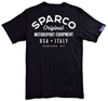 SPARCO GARAGE BLACK BACK