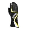 SPARCO RECORD K BLACK YELLOW