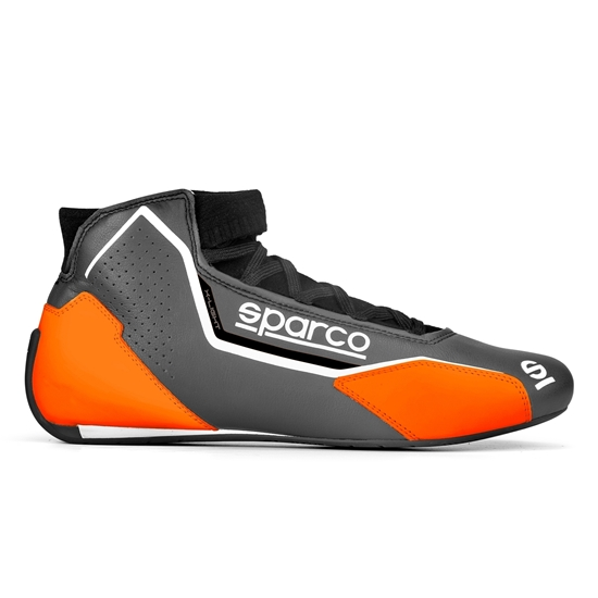 SPARCO X-LIGHT BLACK ORANGE