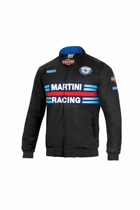 SPARCO MARTINI BOMBER JACKET BLACK