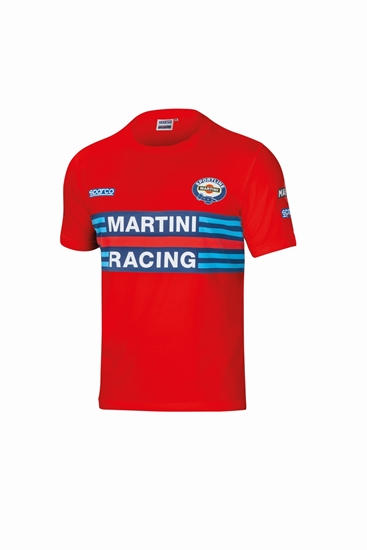 SPARCO MARTINI SHIRT RED