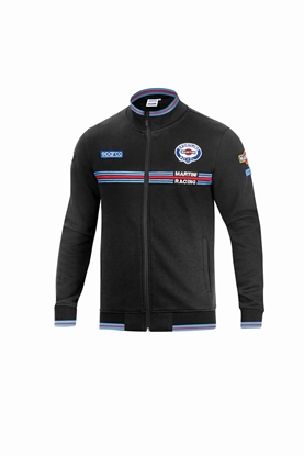 SPARCO MARTINI ZIP BLACK