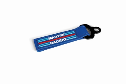 SPARCO MARTINI RACING LEATHER KEY FOB